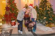 Energy for Life Weihnachtsball für Kinder - Hofburg - Di 16.12.2014 - Kathi STEININGER mit Sohn Lucas und Louie3