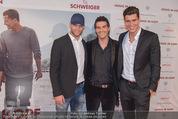 Kinopremiere ´Honig im Kopf´ - Cineplexx Donauplex - Mi 17.12.2014 - Norbert OBERHAUSER, Miro und Damir (ANTM)4