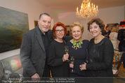 Weihnachtscocktail - Marika Lichter Wohnung - Do 18.12.2014 - J�rgen WILKE, Helene VON DAMM, Ingeborg SERAFIN, Inge KLINGOHR1