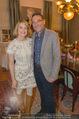 Weihnachtscocktail - Marika Lichter Wohnung - Do 18.12.2014 - Elke WINKENS, Heinz STIASTNY12