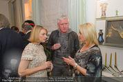 Weihnachtscocktail - Marika Lichter Wohnung - Do 18.12.2014 - Elke WINKENS, Ernst und Manuela FISCHER13