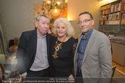 Weihnachtscocktail - Marika Lichter Wohnung - Do 18.12.2014 - Paul SCHAUER, Heinz STIASTNY, Marika LICHTER17