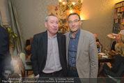 Weihnachtscocktail - Marika Lichter Wohnung - Do 18.12.2014 - Paul SCHAUER, Heinz STIASTNY18