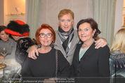 Weihnachtscocktail - Marika Lichter Wohnung - Do 18.12.2014 - Inge KLINGOHR, Albert FORTELL, Christine TSCH�RTZ-KNY19