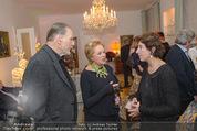 Weihnachtscocktail - Marika Lichter Wohnung - Do 18.12.2014 - J�rgen WILKE, Helene VON DAMM, Ingeborg SERAFIN2