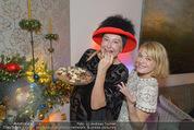 Weihnachtscocktail - Marika Lichter Wohnung - Do 18.12.2014 - Andrea BUDAY, Elke WINKENS20