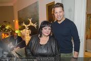 Weihnachtscocktail - Marika Lichter Wohnung - Do 18.12.2014 - Patricia STANIEK, Daniel SERAFIN24