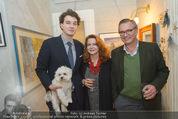 Weihnachtscocktail - Marika Lichter Wohnung - Do 18.12.2014 - Familie Viktor und Doris GRABLOWITZ mit Sohn und Hund27