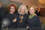 Weihnachtscocktail - Marika Lichter Wohnung - Do 18.12.2014 - Ingeborg SERAFIN, Inge KLINGOHR, Marika LICHTER3