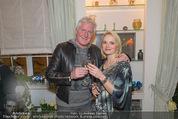 Weihnachtscocktail - Marika Lichter Wohnung - Do 18.12.2014 - Ernst und Manuela FISCHER9