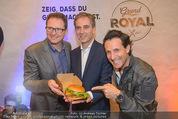 Grand Royal Präsentation - McDonalds Filiale - Mi 07.01.2015 - Andreas SCHMIDLECHNER, Gerhard FUCHS, Tom WALEK28
