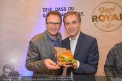 Grand Royal Präsentation - McDonalds Filiale - Mi 07.01.2015 - Andreas SCHMIDLECHNER, Gerhard FUCHS30