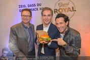 Grand Royal Präsentation - McDonalds Filiale - Mi 07.01.2015 - Andreas SCHMIDLECHNER, Gerhard FUCHS, Tom WALEK31