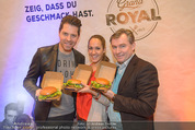Grand Royal Präsentation - McDonalds Filiale - Mi 07.01.2015 - Bianca SCHWARZJIRG, Toni M�RWALD, Daniel SERAFIN38