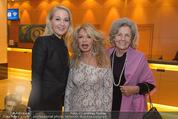 Schiller Neujahrscocktail - Hilton am Stadtpark - Do 08.01.2015 - Kathrin GLOCK, Jeanine SCHILLER, Inge UNZEITIG1