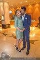 Schiller Neujahrscocktail - Hilton am Stadtpark - Do 08.01.2015 - Ines und Fadi MERZA (schwanger)11