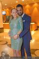 Schiller Neujahrscocktail - Hilton am Stadtpark - Do 08.01.2015 - Ines und Fadi MERZA (schwanger)12