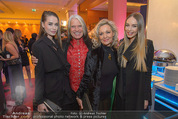 Schiller Neujahrscocktail - Hilton am Stadtpark - Do 08.01.2015 - Familie Waterloo Hans KREUZMAYR Ehefrau Andrea, Tatjana, Natalie26