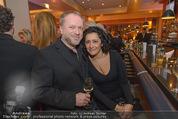 Schiller Neujahrscocktail - Hilton am Stadtpark - Do 08.01.2015 - Reinhard NOWAK mit Ehefrau Arzu28