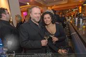 Schiller Neujahrscocktail - Hilton am Stadtpark - Do 08.01.2015 - Reinhard NOWAK mit Ehefrau Arzu29