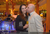 Schiller Neujahrscocktail - Hilton am Stadtpark - Do 08.01.2015 - Christoph F�LBL mit Freundin Vanessa30