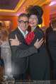 Schiller Neujahrscocktail - Hilton am Stadtpark - Do 08.01.2015 - Christian CLERICI, Andrea BUDAY42