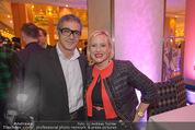 Schiller Neujahrscocktail - Hilton am Stadtpark - Do 08.01.2015 - Christian CLERICI, Lizzy Elisabeth ENGSTLER43