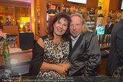 Schiller Neujahrscocktail - Hilton am Stadtpark - Do 08.01.2015 - Alexander BISENZ mit Ehefrau Marianne55