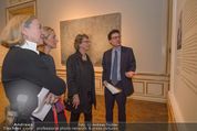 Jasper Johns Ausstellung - Oberes Belvedere - Mo 12.01.2015 - Alexa WESNER mit Mutter, Agnes HUSSLEIN, Mario CODOGNATO10