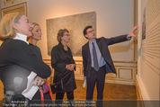 Jasper Johns Ausstellung - Oberes Belvedere - Mo 12.01.2015 - Alexa WESNER mit Mutter, Agnes HUSSLEIN, Mario CODOGNATO11