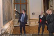 Jasper Johns Ausstellung - Oberes Belvedere - Mo 12.01.2015 - Alexa WESNER mit Mutter, Agnes HUSSLEIN, Mario CODOGNATO15