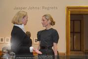 Jasper Johns Ausstellung - Oberes Belvedere - Mo 12.01.2015 - Alexa WESNER, Agnes HUSSLEIN23