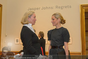 Jasper Johns Ausstellung - Oberes Belvedere - Mo 12.01.2015 - Alexa WESNER, Agnes HUSSLEIN24