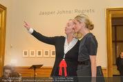 Jasper Johns Ausstellung - Oberes Belvedere - Mo 12.01.2015 - Alexa WESNER, Agnes HUSSLEIN25