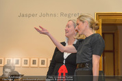 Jasper Johns Ausstellung - Oberes Belvedere - Mo 12.01.2015 - Alexa WESNER, Agnes HUSSLEIN26
