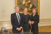 Jasper Johns Ausstellung - Oberes Belvedere - Mo 12.01.2015 - Alexa WESNER mit Eltern (Mutter, Vater, Familie)28