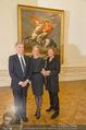 Jasper Johns Ausstellung - Oberes Belvedere - Mo 12.01.2015 - Alexa WESNER mit Eltern (Mutter, Vater, Familie)29