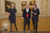 Jasper Johns Ausstellung - Oberes Belvedere - Mo 12.01.2015 - Alexa WESNER mit Mutter, Agnes HUSSLEIN4
