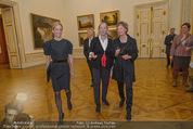 Jasper Johns Ausstellung - Oberes Belvedere - Mo 12.01.2015 - Alexa WESNER mit Mutter, Agnes HUSSLEIN5