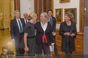 Jasper Johns Ausstellung - Oberes Belvedere - Mo 12.01.2015 - Alexa WESNER mit Mutter, Agnes HUSSLEIN6