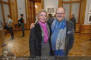 Jasper Johns Ausstellung - Oberes Belvedere - Mo 12.01.2015 - Maria LAHR, Klaus VON OTT66