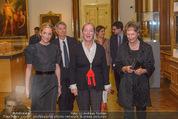 Jasper Johns Ausstellung - Oberes Belvedere - Mo 12.01.2015 - Alexa WESNER mit Mutter, Agnes HUSSLEIN7