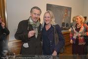 Jasper Johns Ausstellung - Oberes Belvedere - Mo 12.01.2015 - Gunter DAMISCH, Birgit VIKAS70