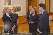 Jasper Johns Ausstellung - Oberes Belvedere - Mo 12.01.2015 - Alexa WESNER mit Mutter, Agnes HUSSLEIN, Mario CODOGNATO8