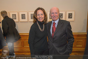Jasper Johns Ausstellung - Oberes Belvedere - Mo 12.01.2015 - Peter BAUM mit Begleitung82