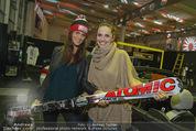 Promi Skirennen Kick-Of Event - Megadenzel Erdberg - Di 13.01.2015 - Anna HUBER, Tanja DUHOVICH20