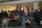 Promi Skirennen Kick-Of Event - Megadenzel Erdberg - Di 13.01.2015 - Biko BOTOWAMUNGU, Peter KENT24