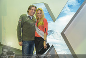 Promi Skirennen Kick-Of Event - Megadenzel Erdberg - Di 13.01.2015 - Vanessa HOOPER, Norbert BLECHA42