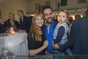 Promi Skirennen Kick-Of Event - Megadenzel Erdberg - Di 13.01.2015 - Familie Danilo CAMPISI mit Freundin Lisa und Sohn Lorenzo5