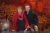 Premiere ´Zweifel´ - Stadttheater Walfischgasse - Mi 14.01.2015 - Elfriede OTT, Goran DAVID29